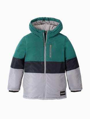 Boys Colorblock Zip Utility Jacket