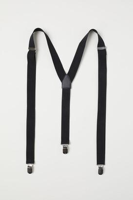 H&M Suspenders - Black