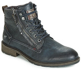 Mustang 4140501-822 men's Mid Boots in Blue