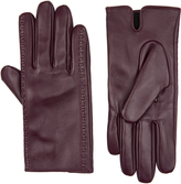 Accessorize Stitch Detail Leather Gloves