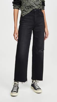 AG Jeans The Etta High Waisted Wide Leg Crop Jeans