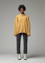 Totême Women's Marans Sweater in Mustard Size Small Merino Wool/Cashmere