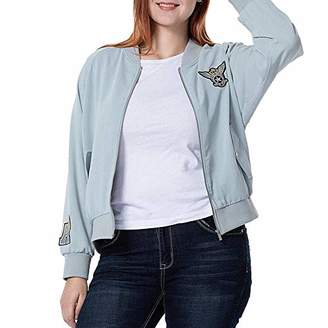 THE PLUS PROJECT Womens Baseball Jacket