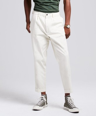 Todd Snyder The Pleated Pant in Ivory Coast