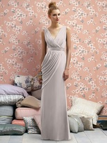 Lela Rose LR174 Dress in Taupe