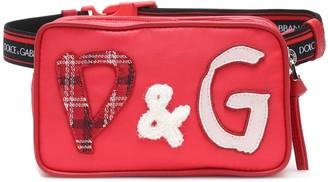 Dolce & Gabbana Kids Appliqued belt bag