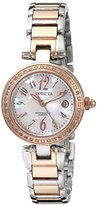 """Invicta Women's 15872SYB """"Angel"""" Rose Gold-Tone Stainless Steel Watch"""