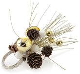 Kim Seybert Frosted Pine Napkin Ring