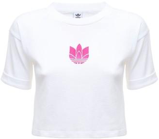 adidas Adicolor 3d Trefoil Cotton T-shirt
