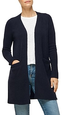Whistles Lilly Long Line Wool Cardigan
