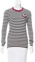 Tory Burch Stripe Patterned Cashmere Sweater