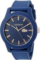 Lacoste Men's 2010817-12.12 Analog Display Japanese Quartz Watch