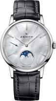 Zenith 03232069280C714 Elite mother-of-pearl moonphase watch