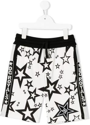 Dolce & Gabbana Kids Star-Print Shorts