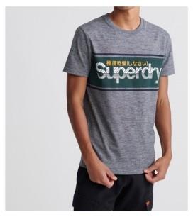 Superdry Men's Core Logo Stripe T-shirt