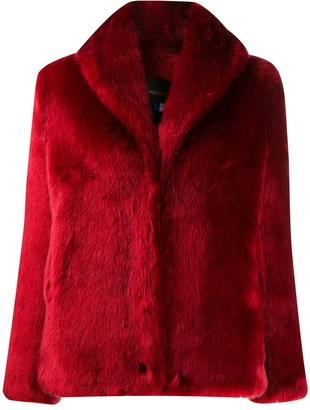La Seine & Moi faux fur coat
