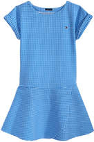 Tommy Hilfiger Gingham Ponte Knit Dress, Big Girls