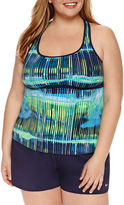 Nike Tie Dye Tankini Swimsuit Top-Plus