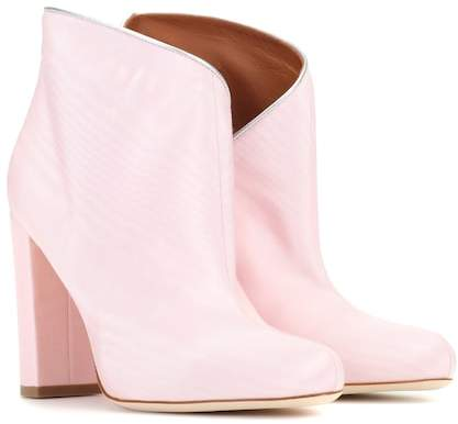 Malone Souliers Exclusive to mytheresa.com – Eula 50 moire ankle boots