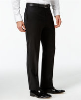 Tommy Hilfiger Black Classic-Fit Tuxedo Pants