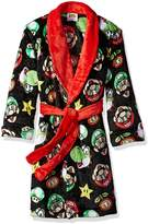 Komar Kids Big Boys' Mario Robe