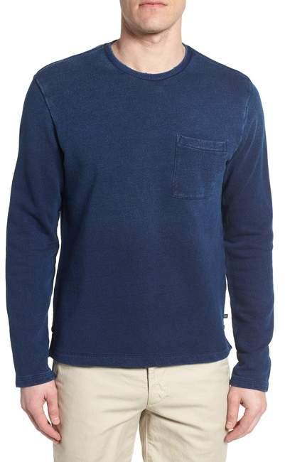 AG Jeans Byron Crewneck Cotton Pocket Sweatshirt