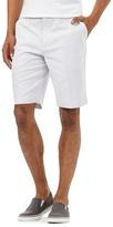 Red Herring White Fine Striped Print Shorts