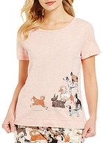 Sleep Sense Walking Dogs Jersey Sleep Top