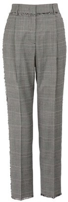 MSGM Wool pants with fringes