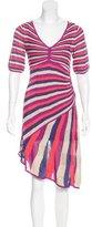 Karen Millen Asymmetrical Knit Dress