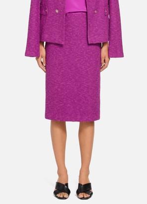 St. John Belle Du Jour Knit Pencil Skirt - Lined