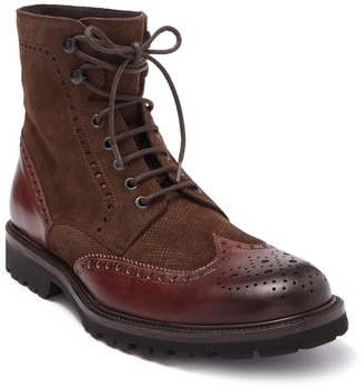 Magnanni Enzo II Leather Wingtip Boot