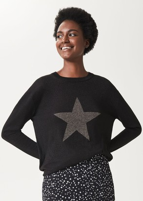 Hobbs Jaida Sparkle Star Jumper