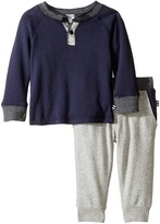 Splendid Littles Long Sleeve Sweater Top with Pants Set Boy's Active Sets