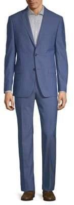 Michael Kors Slim-Fit Classic Wool Suit