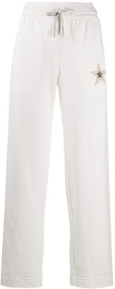 Lorena Antoniazzi Star Applique Drawstring Trousers