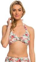 Bettie Page Romance Soft Cup Halter Bikini Top 8137881