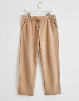 aerie Sandy Fleece Cropped Sweatpant