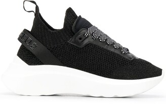 DSQUARED2 Chunky-Sole Knitted Trainers