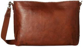 Scully Walker Messenger Bag (Tan) Messenger Bags