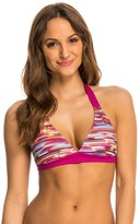 Prana Women's Feather Rainblur Lahari Halter Bikini Top 8136362