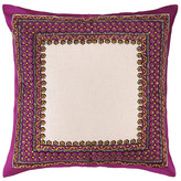 Trina Turk 20x20 Terranea Embroidered Pillow - Purple