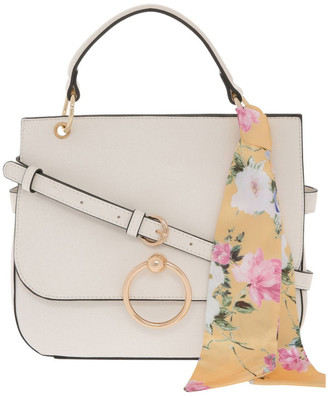 Leona by Leona Edmiston Kiss Me White Satchel