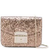 Furla glitter crossbody bag - women - Leather/PVC - One Size