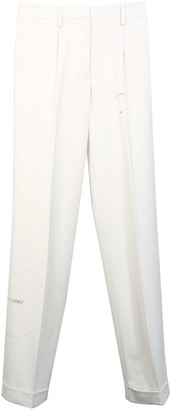 Off-White White Trousers