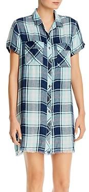 BILLY T Short-Sleeve Button-Up Dress