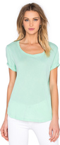 Splendid Vintage Whisper Scoop Neck Tee