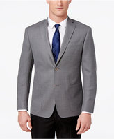 MICHAEL Michael Kors Men's Classic-Fit Gray Basketweave Wool Sport Coat