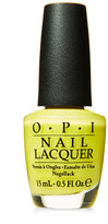 OPI Life Gave Me Lemons Nail Lacquer