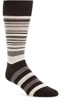 Cole Haan Men's Town Stripe Crew Socks